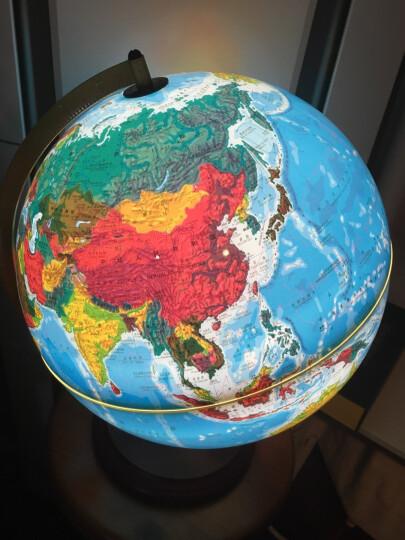博目地球仪:32cm中文政区地球仪(炫影黑架) 晒单图