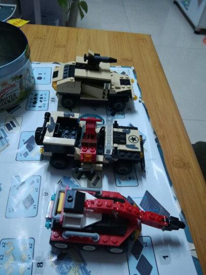 积高(COGO)军事积木隐形战斗飞机 立体拼装隐形轰炸机积木模型 儿童益智玩具400片 13351 晒单图