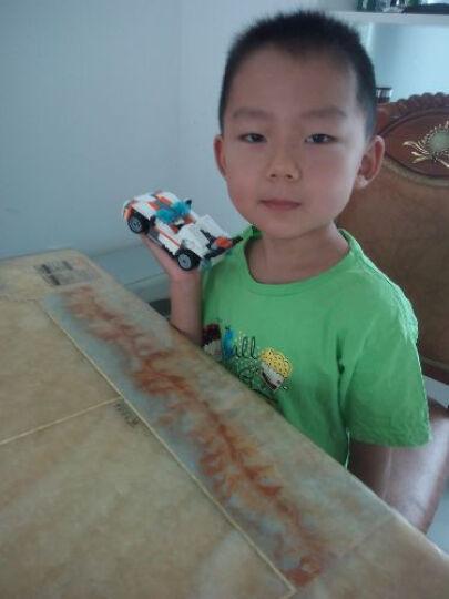 乐高LEGO创意百变三合一系列男孩儿童益智拼装恐龙飞机赛车积木玩具 像素马赛克壁画 31103火箭飞车(7岁+,198粒) 晒单图