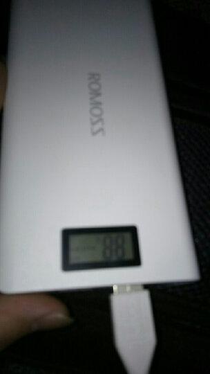 罗马仕(ROMOSS)sense6Plus 移动电源/充电宝20000毫安 苹果/安卓手机/平板通用 数显屏 聚合物电芯 白色 晒单图
