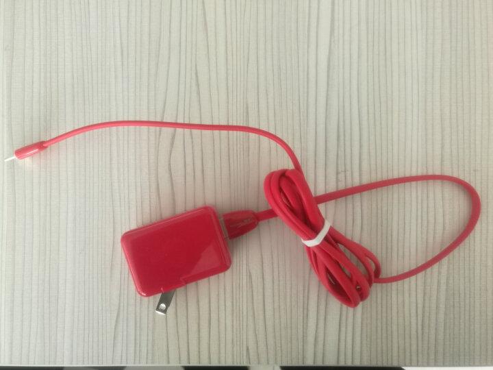 锐明  USB电源适配器 手机充电器 快充 便携式通用型 单口 5V2.1A 红色RM814RD 晒单图