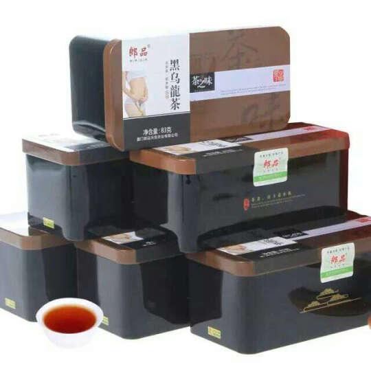 郎品 茶叶 黑乌龙茶 乌龙茶 黑乌龙 3盒总500克 晒单图