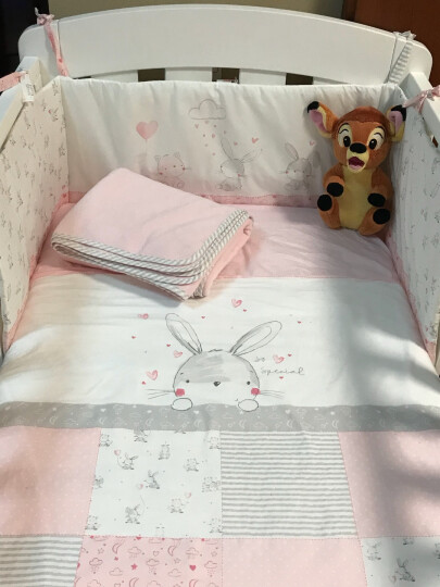 mothercare 婴儿床围床上用品套件夏季新生儿床品床单春秋款幼儿园儿童被子四件套 KB430 晒单图