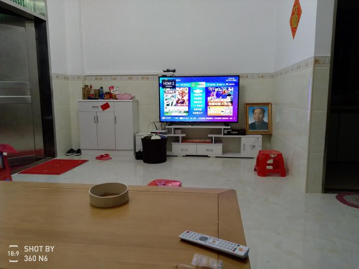 夏新(AMOI) 8818B 55英寸高清4K智能网络LED液晶平板电视机窄边框彩电语音遥控 晒单图