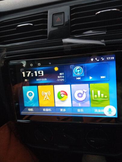 途新 大众朗逸速腾迈腾途观斯柯达明锐捷达新宝来帕萨特polo新桑塔纳车机汽车倒车影像车载导航一体机 高通4G+WIFI-后视-包安装 晒单图