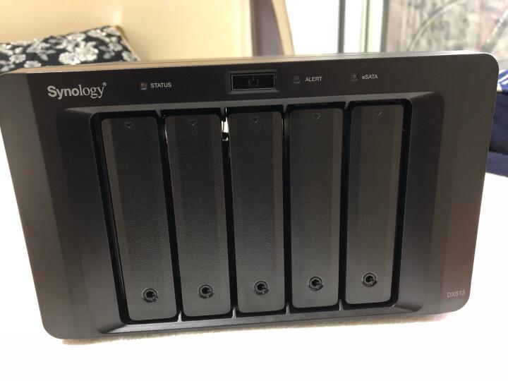 群晖(Synology)DX513 5盘位NAS网络存储扩充设备 为存储空间提供额外5颗硬盘的容量(无内置硬盘) 晒单图