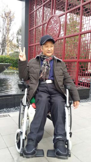 BEIZ 贝珍 电动轮椅车  老年人残疾人代步车 手动电动两用    BZ-6111 锂电池30安 晒单图