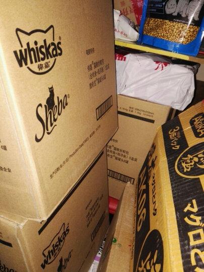 伟嘉猫粮 宠物猫零食 成猫全价妙鲜包 (金枪鱼+海洋鱼)5盒装 赠希宝进口猫罐头8罐(口味随机)5780g 晒单图