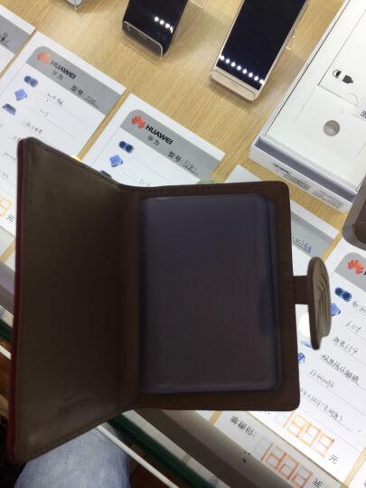 20卡位多卡位个性小卡包女卡片包韩国可爱日韩卡夹迷你卡通小清新 咖啡色 晒单图