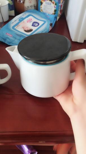 SOWDEN sowden咖啡壶陶瓷手冲咖啡壶家用过滤手冲壶 法式滤泡壶手动咖啡机意大利 白色2杯量(小号) 晒单图