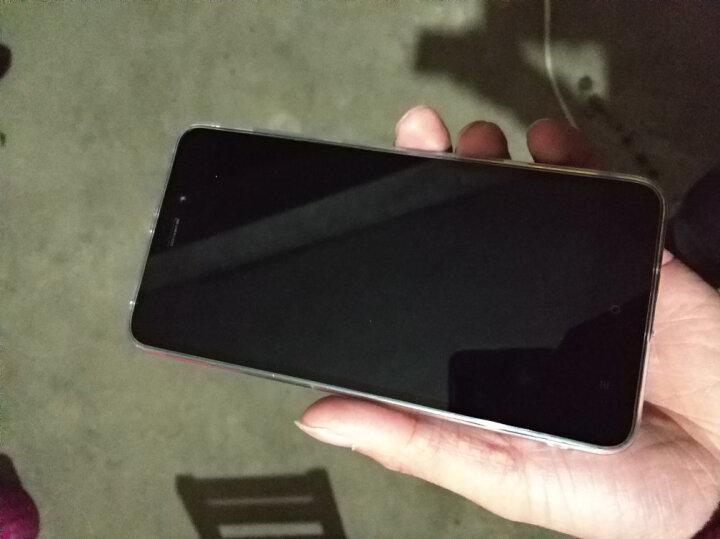 毕亚兹(BIAZE) 红米3手机壳/保护套 全包防摔透明软壳 清爽系列 JK28-透明白 晒单图