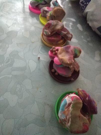 乐乐屋 儿童面条机玩具理发师橡皮泥挤头发彩泥模具工具套装粘土 牙医玩具拔牙象皮泥冰淇淋机雪糕机女孩 10色彩泥 晒单图