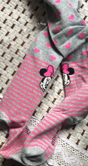 迪士尼儿童连裤袜 女童打底裤袜宝宝舞蹈袜子连体袜 A款 00182藏青 100cm适合95-105cm 晒单图