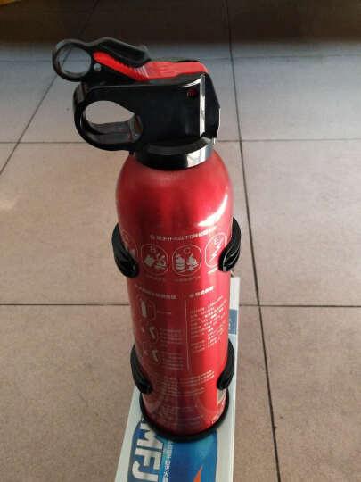 路趣 送固定架汽车用车载灭火器小车家用干粉消防器材FlameFighter 520g红色 晒单图