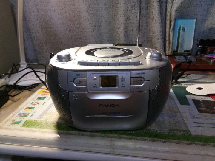 熊猫(panda)CD-200 复读CD机 磁带复读机 胎教机 两波段 录音机 磁带收录机 晒单图