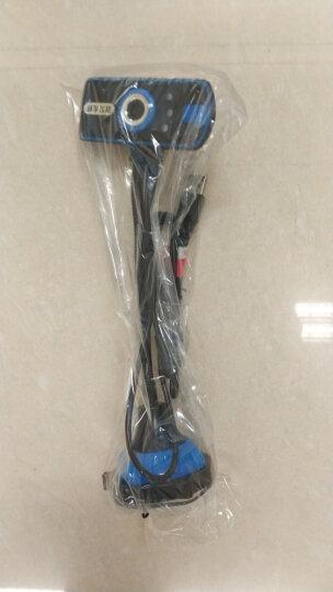 环宇飞扬(UniFly)蓝色恋人M519高清网络电脑摄像头 蓝色 晒单图