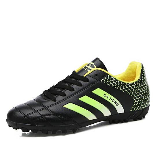 古农男子足球鞋儿童男女学生碎钉足球鞋长钉专业训练比赛足球鞋 HT-333黑色 39 晒单图