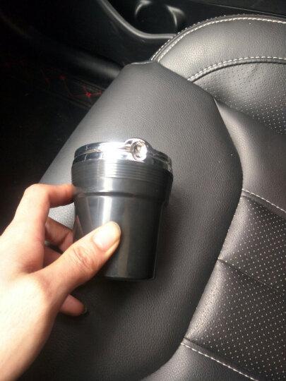 尼克莱斯 车载烟灰缸 汽车用烟缸 带盖LED灯阻燃可拆卸内胆烟灰缸 烟灰缸 (珍珠白)1个装 雪铁龙标C4L 爱丽舍 世嘉C5 C2 晒单图