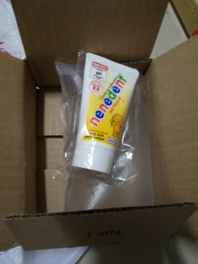昵昵乐 nenedent儿童牙膏进口德国原装 宝宝牙膏2岁可吞咽 3-6-12岁换牙期防蛀牙 莓果含氟 晒单图