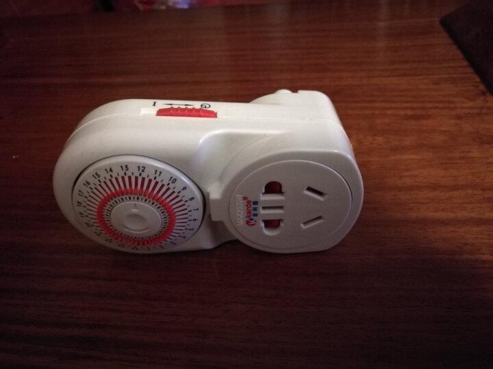 趣乐多鱼缸定时器金科德 机械式定时器定时开关插座 时控开关插座 自动循环断电 机械式定时器 晒单图
