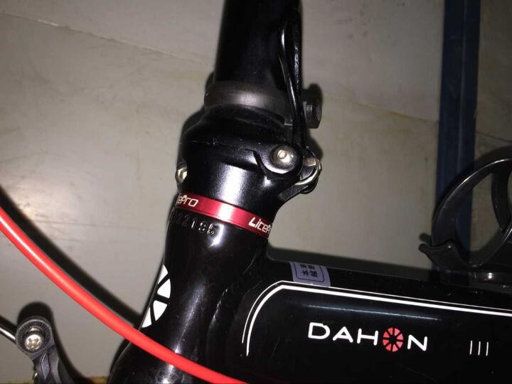 大行(DAHON) 折叠自行车14寸超轻铝合金成人学生便携代驾单车BYA412 金色 晒单图