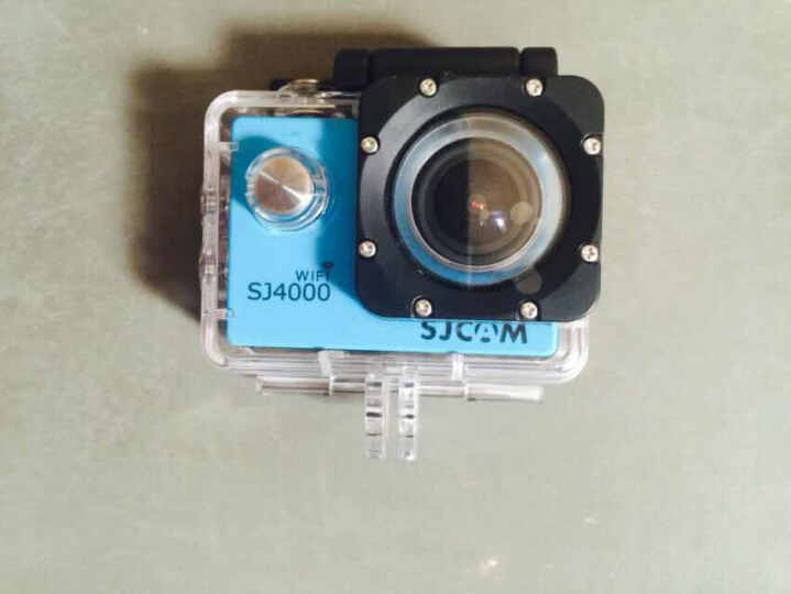 SJCAM SJ4000wifi 运动相机1080P高清骑行航拍山狗行车记录仪防水摄像机 水下相机 天空蓝 晒单图