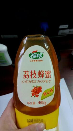 福标(fubiao) 福标 天然荔枝蜂蜜  465g/瓶 晒单图