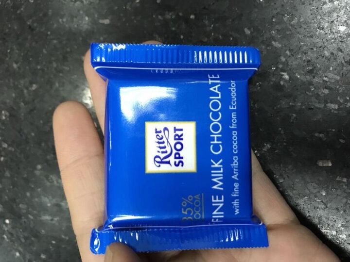 德国进口RitterSport瑞特斯波德迷你七彩什锦巧克力150g 晒单图