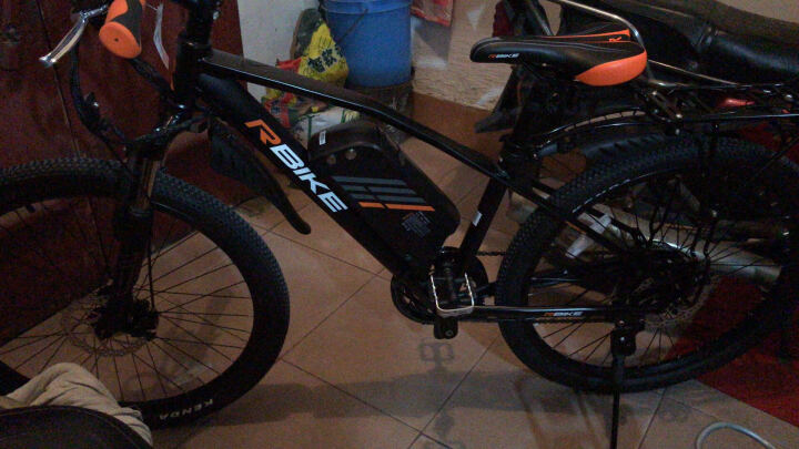 骑达(RBIKE) RBIKE骑达助力自行车锂电车专用单车配件后货架 黑色 晒单图