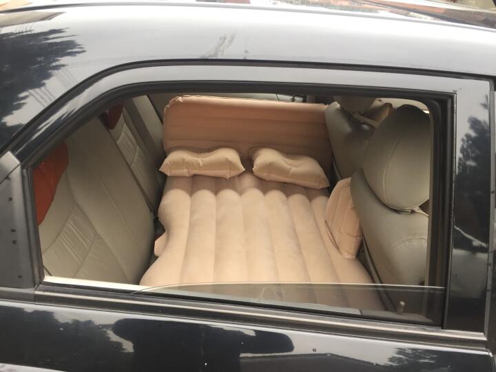 沿途 车载充气床汽车用后排充气床垫 分体式车震床 自驾游装备汽车旅行床气垫床 分体式-米色小熊护头挡 晒单图