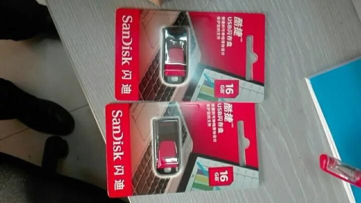 闪迪(SanDisk)酷捷 (CZ51) 16GB U盘 黑红 晒单图