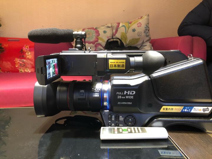 松下(Panasonic) HC-MDH2GK-K 专业肩扛式入门级数码摄像机 婚庆/直播/教学/会议/晚会 晒单图