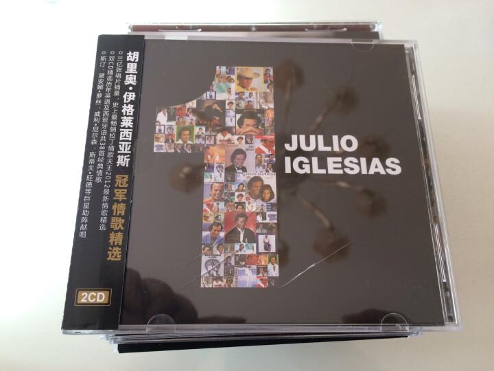 胡里奥·伊格莱西亚斯:冠军情歌精选(欧西流行2CD) 晒单图