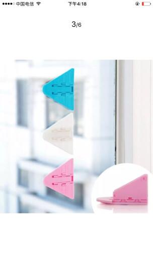 贝特熊 儿童窗户安全锁宝宝门窗防护安全锁婴儿推拉门窗锁扣免安装方便 白色(8只装) 晒单图