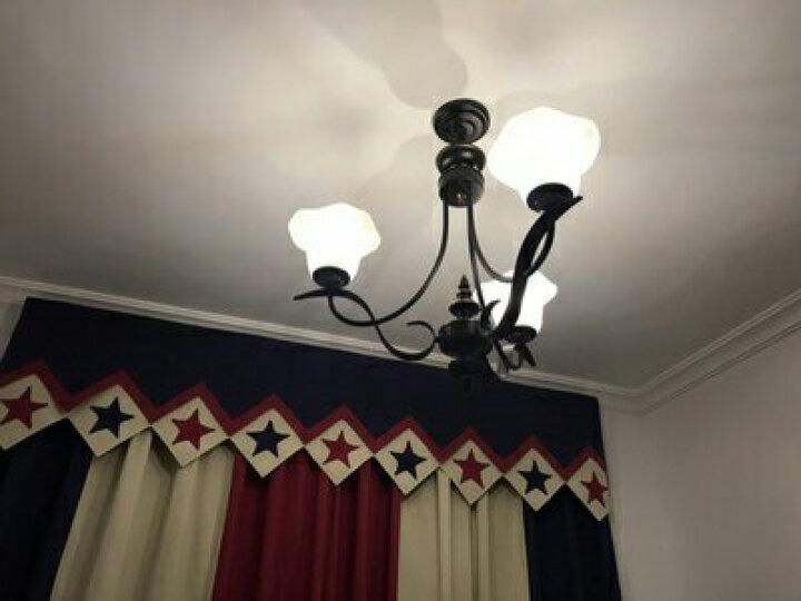 雷士(NVC) 雷士照明 LED镜前灯 简约现代灯具浴室防水防雾卫生间壁灯 EMB9001/A 6W(适合11cm内镜柜使用) 晒单图