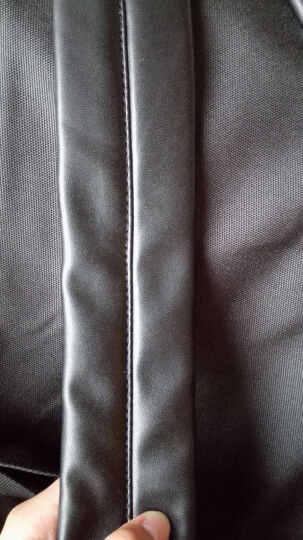 Mr.ace Homme 印花女双肩包背包 新款中学生男女书包韩版潮包 情侣同款背包 紫色 晒单图
