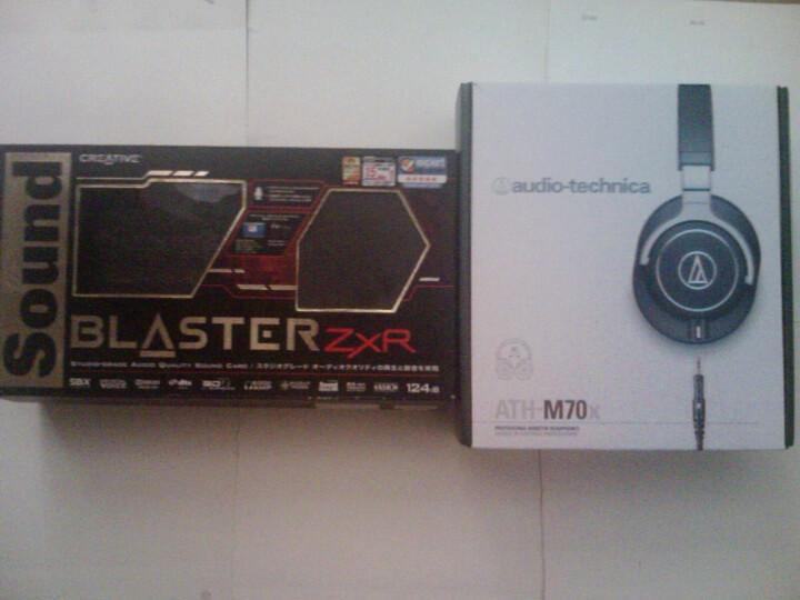 铁三角(Audio-technica)ATH-M70X 高端专业录音监听头戴式耳机 高度声音还原 晒单图