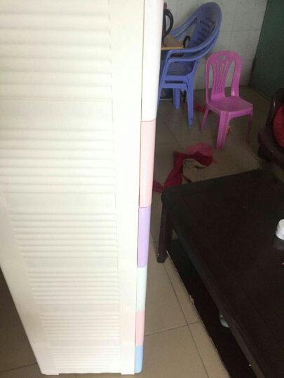 咖啡熊/KAFEE BEAR加厚收纳柜抽屉式塑料柜环保儿童宝宝衣柜斗柜整理柜储物柜收纳箱 浅紫色 5层 晒单图