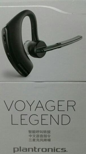 缤特力(Plantronics)Voyager 5210 商务单耳蓝牙耳机 直播主播网络上课清晰降噪 耳挂式 深蓝色 晒单图