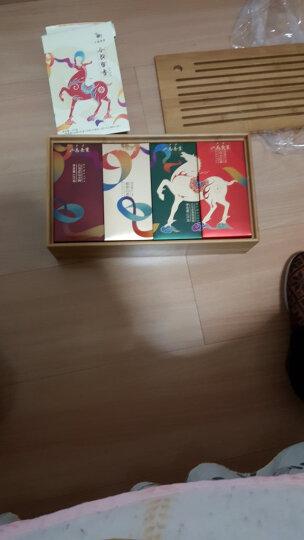 八马茶业 茶叶 铁观音 大红袍 正山小种红茶 福鼎白茶 竹制茶盘 茶叶礼盒套装375g 晒单图