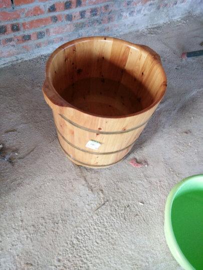 嘉熙 盖 桶盖 浴足桶 实木香柏木足浴桶浴足盆浴足桶盖 浴足桶1型桶盖 晒单图