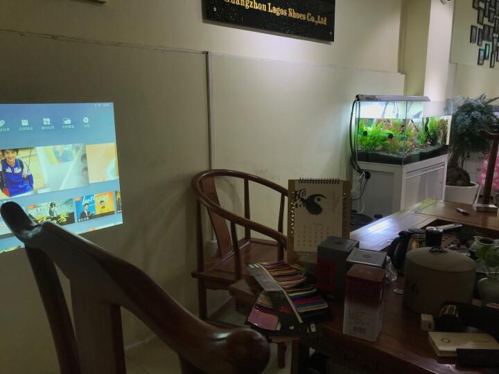 坚果(JmGO)J6 家用 全高清 投影仪 投影机(1080P分辨率 1100流明 左右梯形校正 智能影院) 晒单图