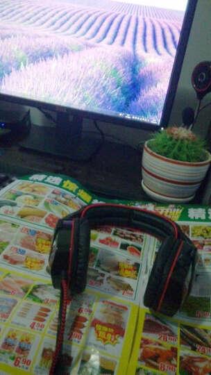BSN SA901 专业竞技游戏耳机头戴式lol usb电脑耳麦超雷蛇cf 7.1声道 USB头戴式耳机黑红 晒单图