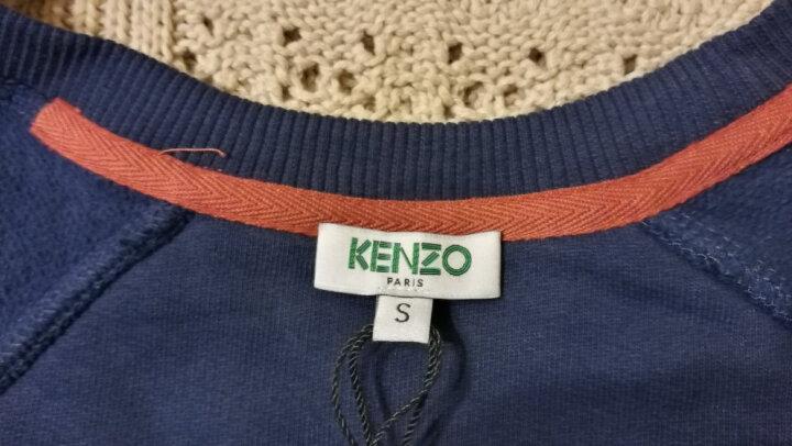 KENZO/高田贤三男装 刺绣大虎头套头卫衣 F7555SW0014XC 黑色F7655SW1194XG XS 晒单图