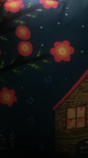 九洲鹿家纺 卡通抱枕沙发靠垫办公室靠枕床头靠背汽车护腰靠垫腰枕垫 含芯 爱心小狗 45x45cm 晒单图