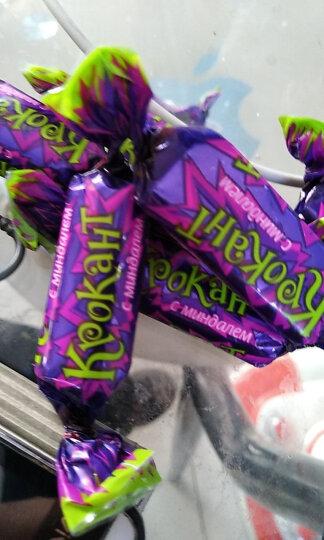KDV 进口紫皮糖500g袋 扁桃仁夹心巧克力酥糖喜糖果零食批发 500克X4 晒单图
