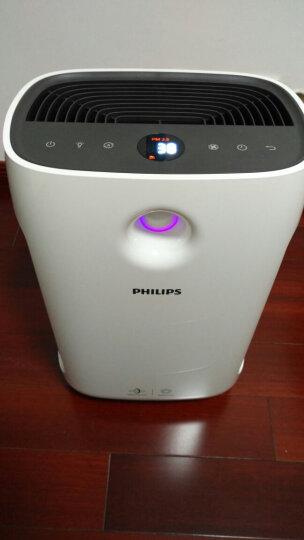 飞利浦(PHILIPS) 空气净化器家用除甲醛雾霾净化器办公室空气消毒机2000系列畅销款 云白色AC2886/00三档定时-344立方米/h 晒单图