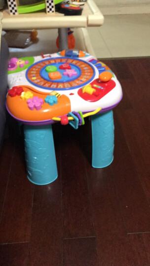 英纷婴儿多功能学习桌 幼儿早教宝宝玩具桌婴儿游戏桌1岁宝宝玩具 字母学习桌送电池+螺丝刀 晒单图