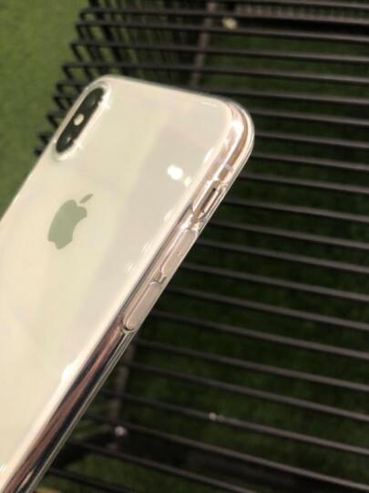 第一卫  苹果X手机壳适用于iPhoneX防摔超薄电镀男女款软套透明硅胶保护磨砂抖音吃鸡 X透明款【送全玻璃钢化膜】 晒单图