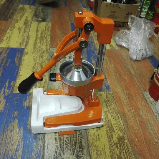 手动榨汁机家用不锈钢压汁机商用多功能炸水果机 榨汁机黑色 晒单图